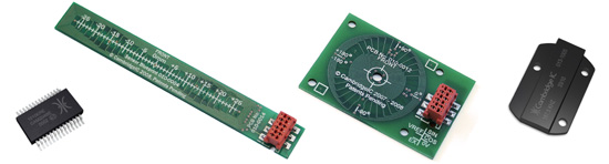 CTU chip, linear and rotary sensors and target
