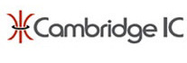 CambridgeIC logo integrated circuits for sensing precise position of moving parts in machines